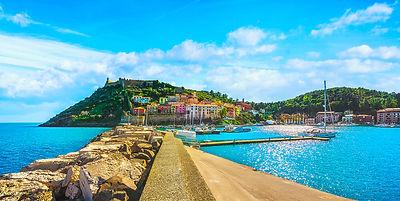 Porto Ercole panoramic view