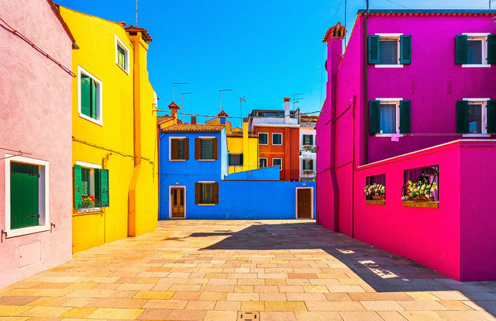 Burano Color Patchwork