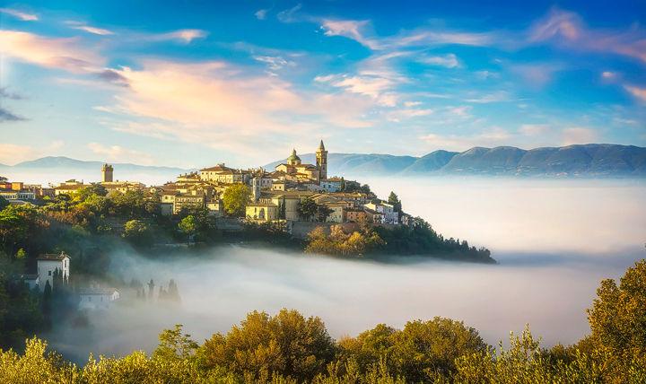 Trevi above the Fog