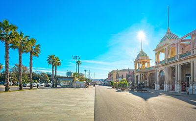 Seafront Promenade in Viareggio