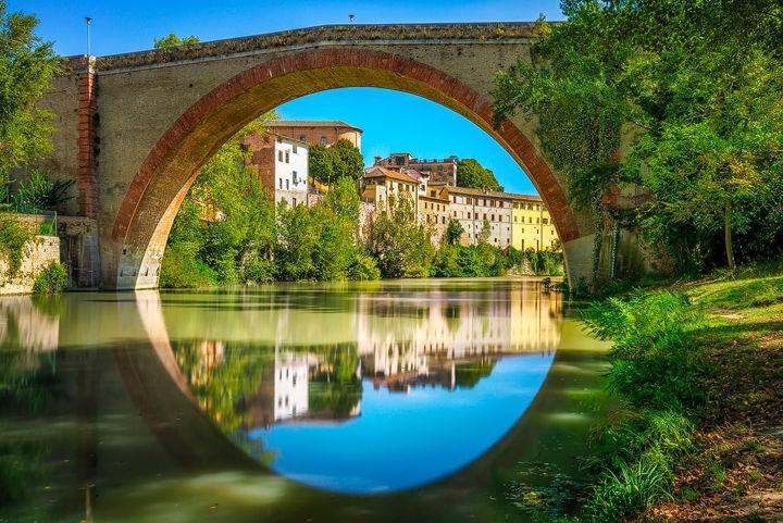 Ponte della Concordia, Fossombrone