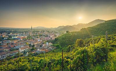 Col San Martino at Sunset