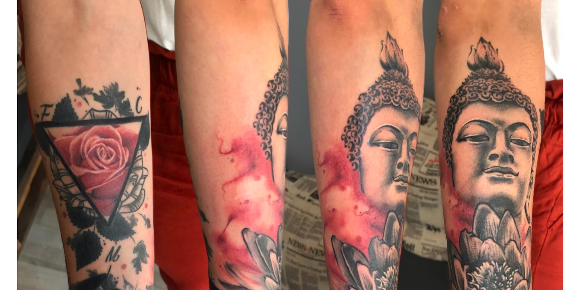 Tatouage Budha