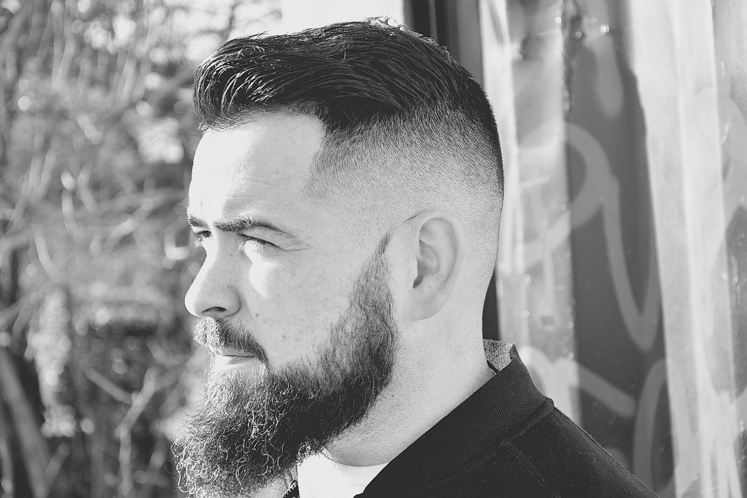 Barbe cheveux homme