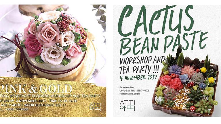 Cactus Beanpaste Workshop& Tea Party