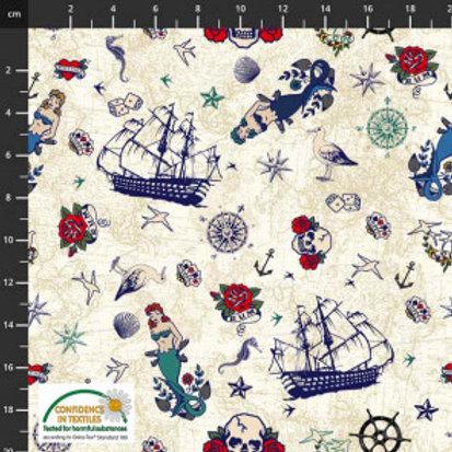 Nautical Tattoo Knit