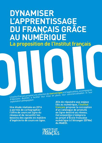 Institut Français - Flyer Offre numérique