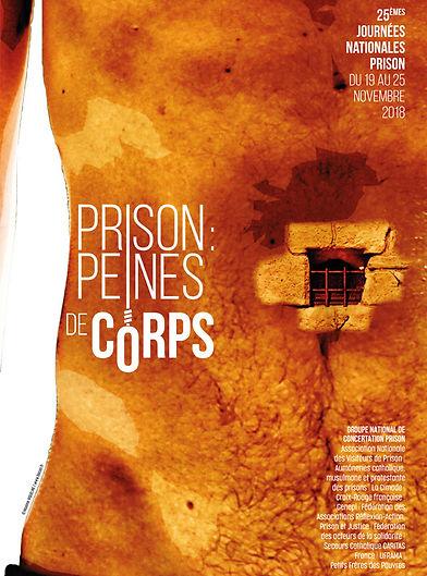 Journées Nationales Prison 2017 - Visuel 1