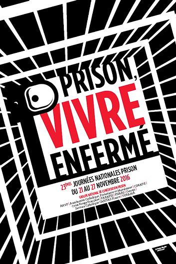 Journées Nationales Prison 2016 - Visuel 1