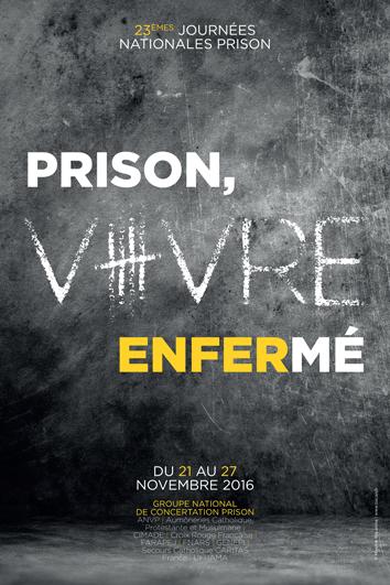 Journées Nationales Prison 2016 - Visuel 2