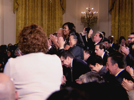 """Michelle Obama to LGBTQ True Colors in White House Awards presentation: """"You belong here."""""""