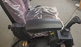 Heavy Equipment Operator Seat Joy Stick