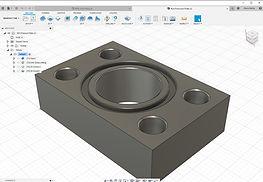 Hydraulic Manifold 3D