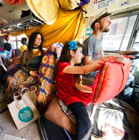 Abracadabra tour - Bob Krasner int bus 2