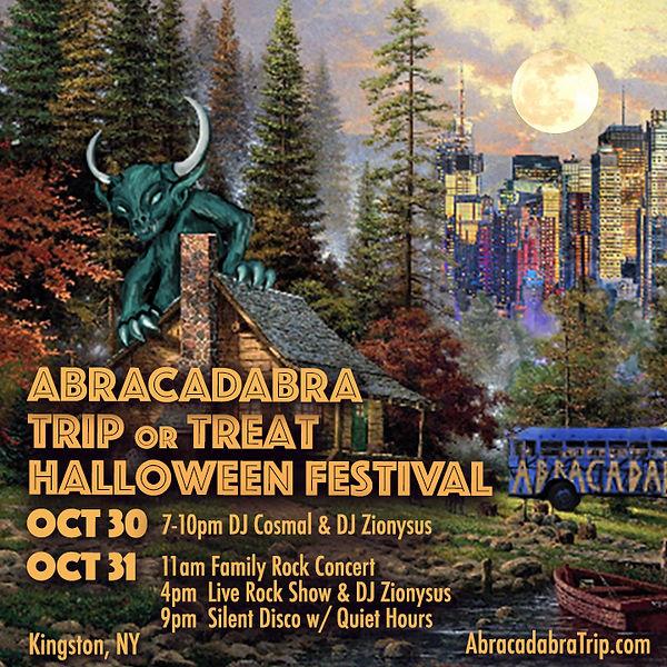 abracadabra Trip of Treat flier 2020_10_