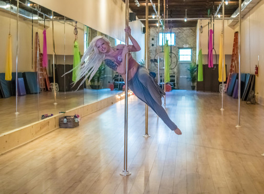 THE REVOLUTION OF POLE FITNESS.