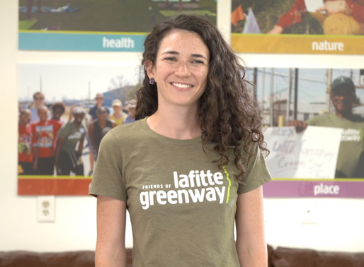 FRIENDS OF THE LAFITTE GREENWAY AND THE SUMMER.