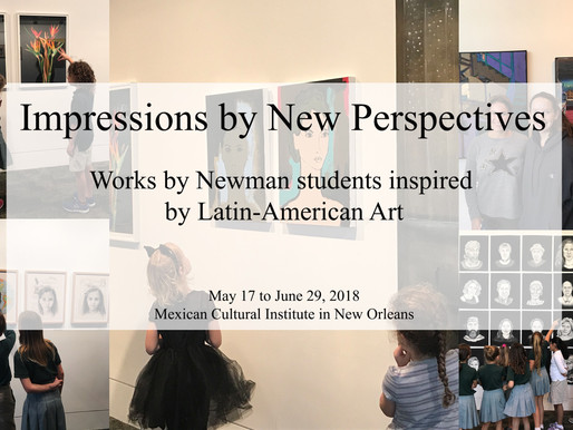 NEW ART INSTALLATION BY STUDENTS AT THE MEXICAN CONSULATE OF NEW ORLEANS