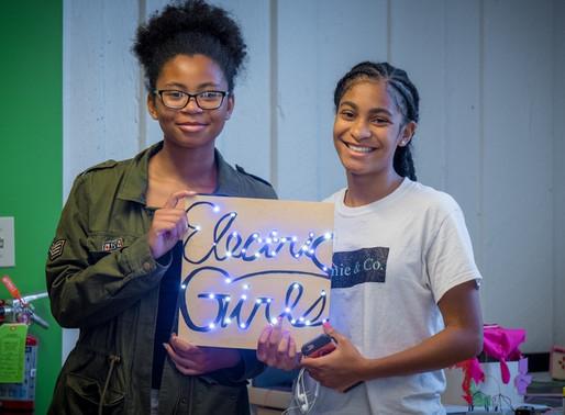 "ELECTRICS GIRLS & THE POWER OF ""STEM""."