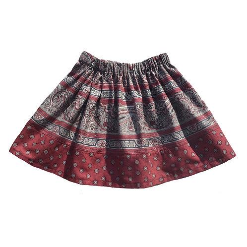 Paisley Motif Ana Skirt