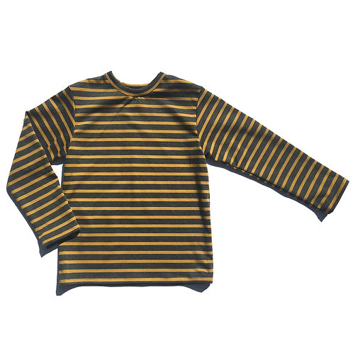 Gold Striped Long Sleeve