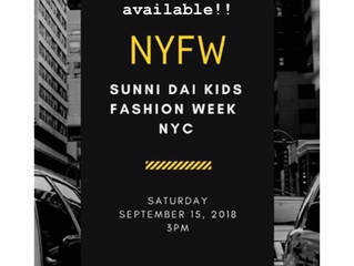 Come See Us at NYFW🖤
