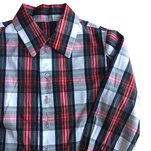 Holiday Plaid Button Down