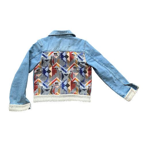 Indra Print Denim Jacket