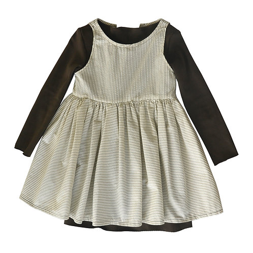 Ribbon Tie Coco Smock Set