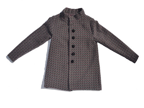 Gray Dot Coat