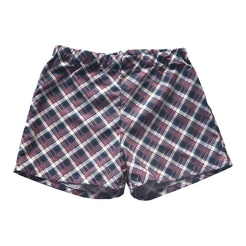 Kelly Plaid Kennedy Shorts