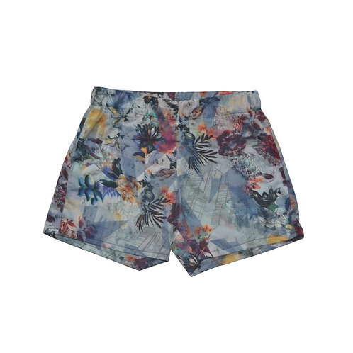 City Floral Kennedy Shorts