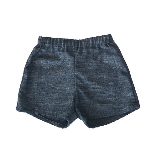 Textured Kennedy Shorts