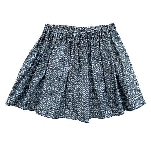 Vintage Motif Soleil Skirt
