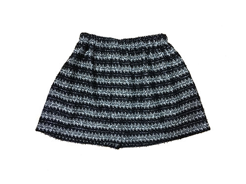 Silver Stripes Ana Skirt