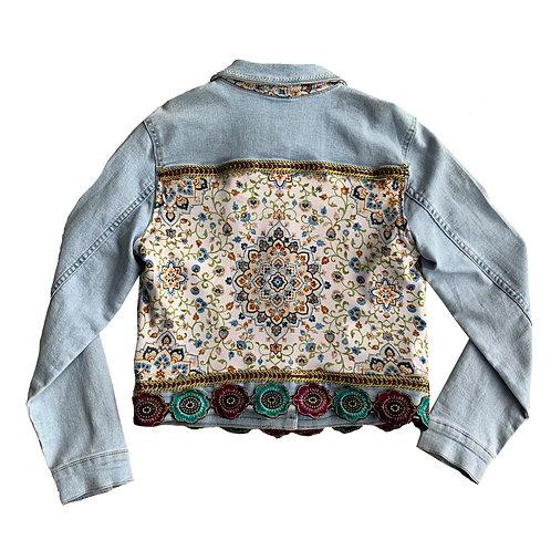 Octavia Print Denim Jacket