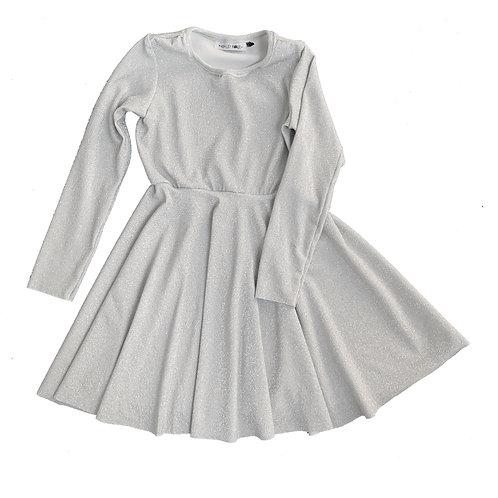 Glittering Snow Dress
