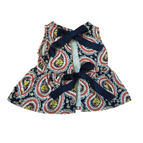 Paisley Kiera Bow Top