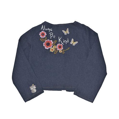 Inspirational Floral Jacket