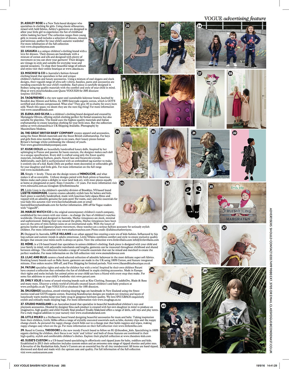 November British Vogue Bambini #21