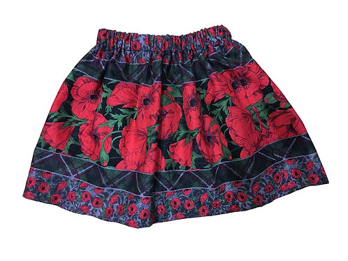 Holiday Floral Soleil Skirt