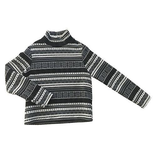 Raven Stripe Sweater