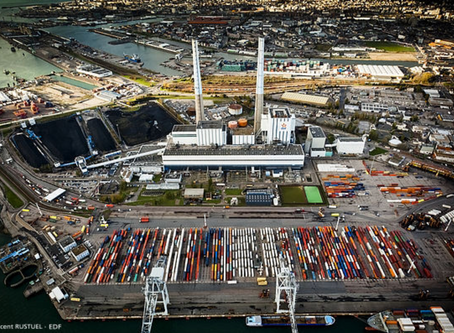 """""""Transition Energétiques"""": A Class Trip to the EDF Coal Plant of Le Havre"""