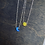Thumbnail: Lab Opal Moon & Sun BFF Necklace Set