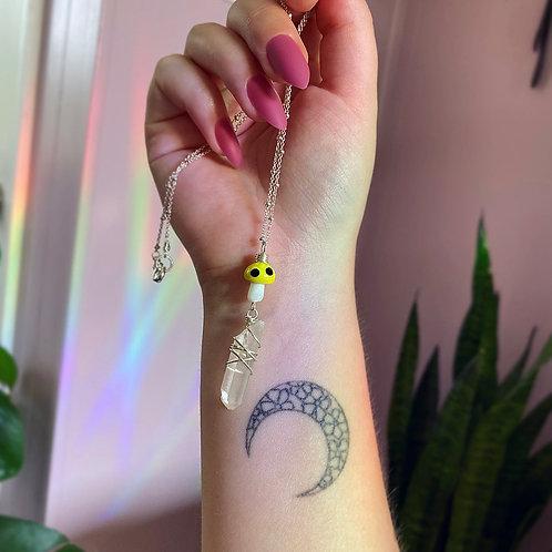 Shroom Necklace - Bumblebee
