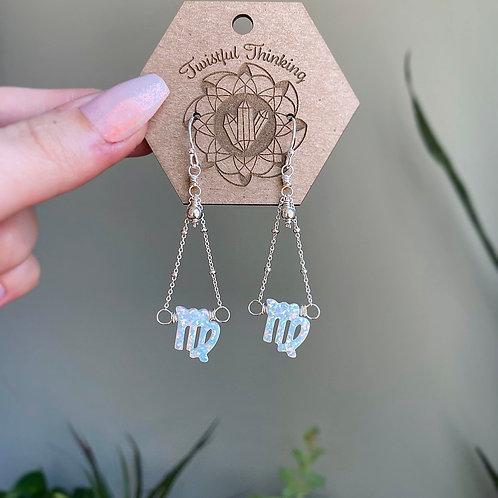 Zodiac Earrings - Virgo