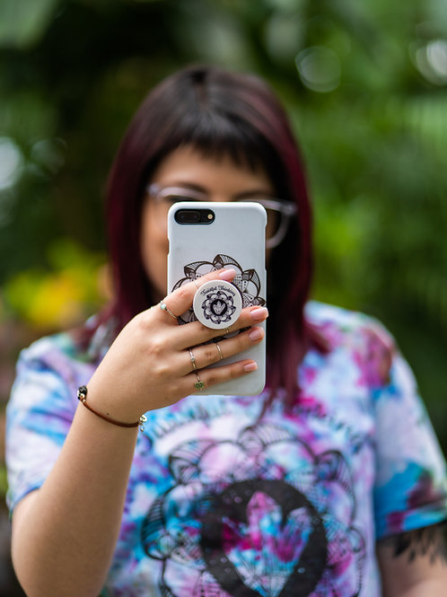 Twistful Thinking Pop Socket