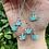 Thumbnail: Lab Opal Canna Princess Necklace