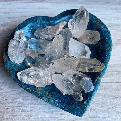 Raw Clear Quartz Crystal