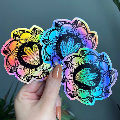 Holographic Twistful Thinking Sticker